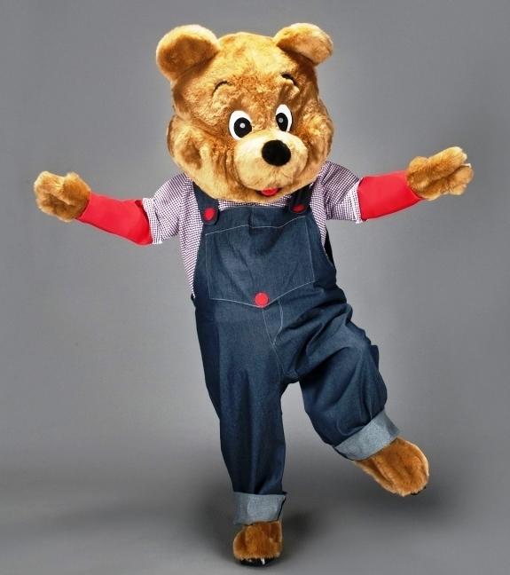 contoh kostum maskot beruang