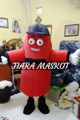 Kostum badut maskot promosi perusahaan