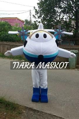 contoh design kostum maskot perusahaan atau maskot promosil