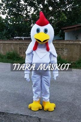 kostum maskot perusahaan ayam