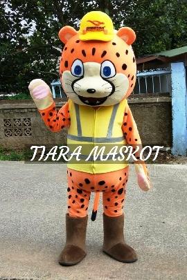 Foto Kostum maskot Karakter cheetah