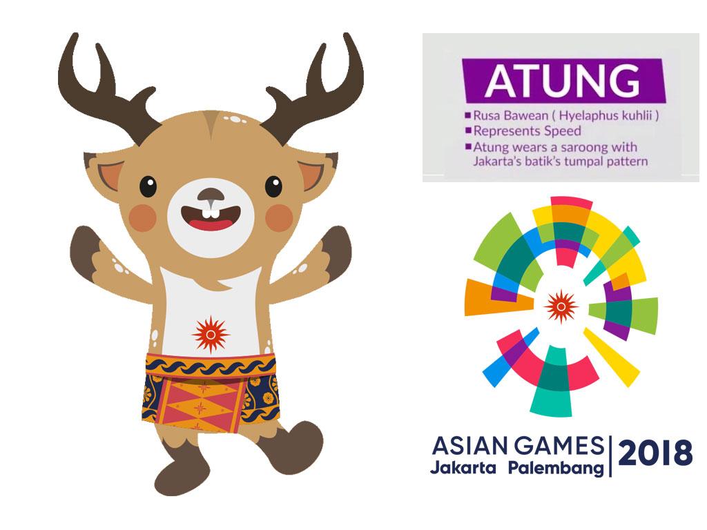 maskot asian games 2018 unik lucu dan penuh makna