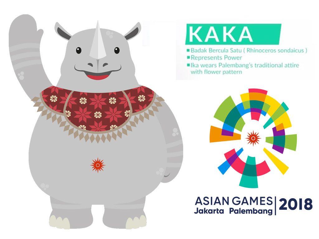 Kaka Maskot Asian Games 2018 by Tiara Maskot
